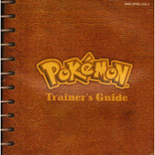 Pokemon Blue Manual For Nintendo GameBoy