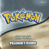 Pokemon Silver Manual For Nintendo GBC
