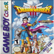 Dragon Warrior III Empty Box For Nintendo GameBoy Color