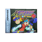 Mega Man Battle Network - GameBoy Advance Manual