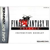 Final Fantasy VI Advance Manual For GBA