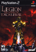 Legion: The Legend of Excalibur - PS2 game