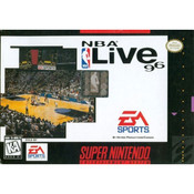 NBA Live 96 Complete Game For Nintendo SNES