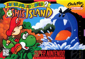 Complete Super Mario World 2 Yoshi's Island - SNES