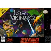 Lost Vikings 2 Super Nintendo SNES CIB Complete used video game for sale.