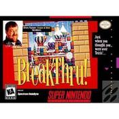 BreakThru! Complete Game For Nintendo SNES