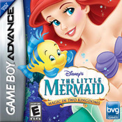 Little Mermaid Magic in Two Kingdoms - GBA GameLittle Mermaid Magic in Two Kingdoms - Game Boy Advance