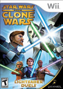 Star Wars The Clone Wars Lightsaber - Wii Game