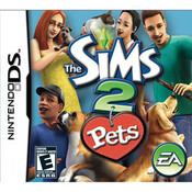 Sims 2 Pets - DS Game