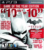 Batman Arkham City Game of the Year Edition - PS3