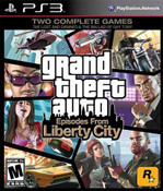 Grand Theft Auto Episodes From Liberty City - PS3 Game