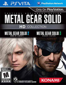 Metal Gear Solid HD Collection Video Game for Sony PlayStation Vita