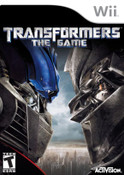 Transformers The Game - Wii Game