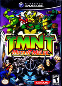 TMNT (Teenage Mutant Ninja Turtles) Mutant Melee - GameCube Game