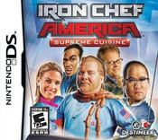 Iron Chef America Supreme Cuisine Nintendo DS Game