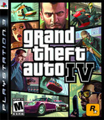 Grand Theft Auto IV - PS3 Game