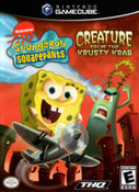 Nickelodeon SpongeBob Squarepants Creature Fromn The Krusty Krab GameCube Game