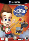 The Adventures of Jimmy Neutron Boy Genius Jet Fusion GameCube Game