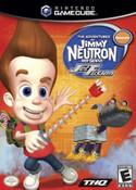 The Adventures of Jimmy Neutron Boy Genius Jet Fusion GameCube Game
