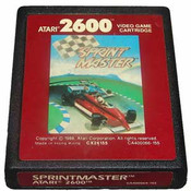 Sprintmaster Red Label - Atari 2600 Game