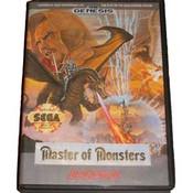 Master of Monsters - Genesis Game Box