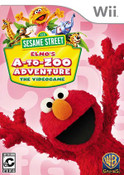Sesame Street Elmo's A to Zoo Adventure Nintendo Wii Game