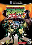Teenage Mutant Ninja Turtles 3 GameCube Game