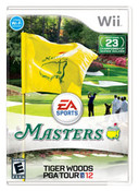 Tiger Woods PGA Tour 12 Masters Nintendo Wii Game