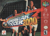 International Superstar Soccer 2000 Nintendo 64 N64 video game box art image pic