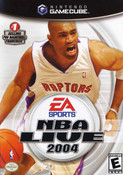 NBA Live 2004 Gamecube Game