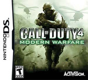 Call of Duty 4 Modern Warfare - DS Game