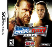 WWE Smack Down VS Raw 2009 - DS Game