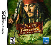 Pirates of the Caribbean Dead Man's Chest - DS Game