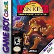Lion King - GameBoy Color Game
