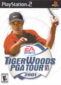 Tiger Woods PGA Tour 2001 - PS2 Game