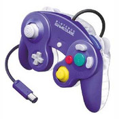 Original Indigo/Clear Controller - GameCube / Wii