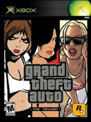Grand Theft Auto Trilogy - XBox Game