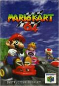 Mario Kart 64 (Blue) - N64 Manual