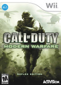 Call of Duty Modern Warfare Reflex Edition Wii Game