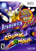 Brunswick Zone Cosmic Bowling - Wii Game
