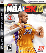 NBA 2K10 - PS3 Game