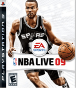 NBA Live 09 - PS3 Game