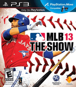MLB 13 The Show PS3 Game