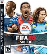 Fifa 08 Soccer PS3 Game