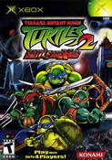 Teenage Mutant Ninja Turtles 2 Battlenexus - Xbox Game