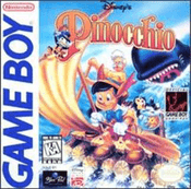 Pinocchio, Disney's - Game Boy Game