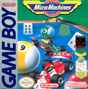 Micro Machines - Game Boy Game
