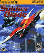 Soldier Blade - Turbo Grafx 16 Game