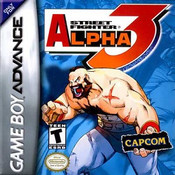 Street Fighter Alpha 3 - Game Boy Advance Game