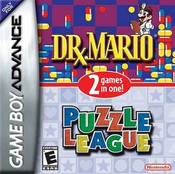 Dr. Mario & Puzzle League - Game Boy Advance Game
